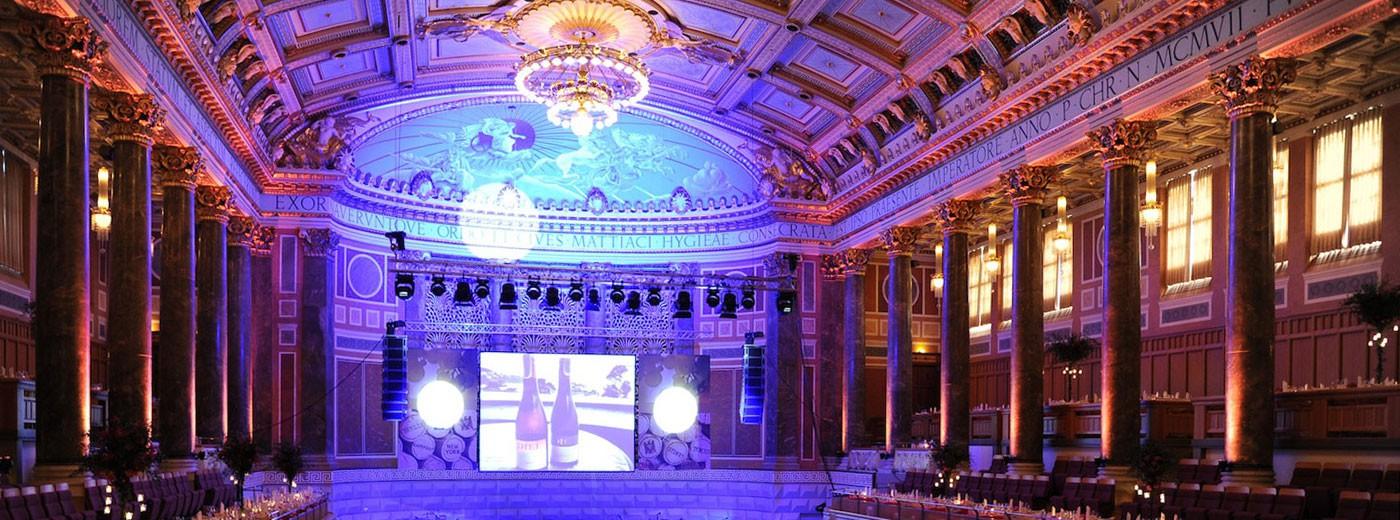 Slider Ballsaal