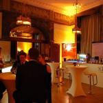 Gäste in der Schell Lounge am Abend des Ball des Weines 2012
