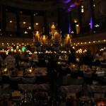 Die Dekoration im Ballsaal am Abend des Ball des Weines 2013