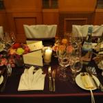 Die Dekoration beim Ball des Weines 2013