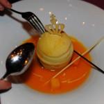Dessert beim Ball des Weines 2013