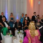 Gäste in der Lounge am Abend des Ball des Weines 2013