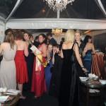Gäste beim Ball des Weines 2014 in der Zigarrenlounge