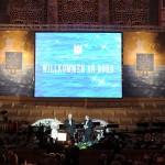 Die Bühne beim Ball des Weines 2012