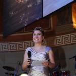 Die Moderatorin beim Ball des Weines 2012