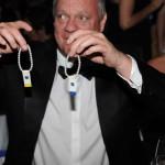 Tombolalose beim Ball des Weines 2012