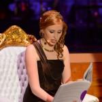 Die Moderatorin des Ball des Weines 2013