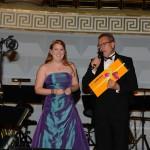 Gewinnübergabe beim Ball des Weines 2013