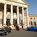 Das Kurhaus Wiesbaden bei strahlendem Sonnenschein beim Ball des Weines 2012