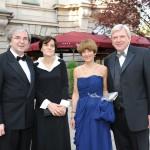 Gäste beim Empfang des Ball des Weines 2012