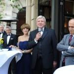 Rede beim Empfang des Ball des Weines 2012