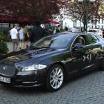 Der neue Jaguar XJ beim Ball des Weines 2012