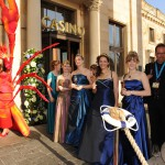 Die Weinköniginnen beim Ball des Weines 2012