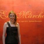 Moderatorin beim Ball des Weines 2013