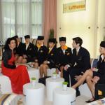 Die Lufthansa Lounge beim Ball des Weines 2013