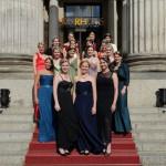Weinköniginnen des Ball des Weines 2014 im Kurhaus Wiesbaden