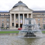 Das Kurhaus Wiesbaden am Nachmittag