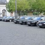Der Audi VIP Shuttle Service 2014