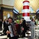 Empfangshalle des Kurhaus Wiesbaden beim Ball des Weines 2012