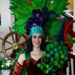Beeindruckende Kostümierung beim Ball des Weines 2012
