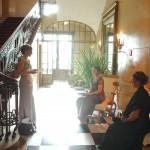 Rückzugsmöglichkeiten beim Ball des Weines 2012