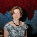 Gast des Ball des Weines 2014 in der Empfangshalle des Wiesbadener Kurhauses