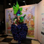 Beeindruckende Kostümierung beim Ball des Weines 2013
