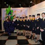 Die Lufthansa Crew beim Ball des Weines 2013