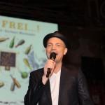 Roger Cicero auf der Bühne des Ball des Weines 2015