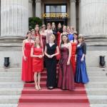 Weinköniginnen beim Empfang des Ball des Weines 2015