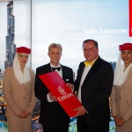 Emirates als Partner des Ball des Weines 2015