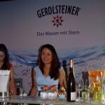 Gerolsteiner als Partner des Ball des Weines 2015